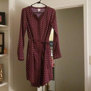 New Long Sleeve Merona Dress (S)